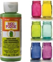 Mod Podge Sheer Colour Green