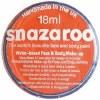 Snazaroo 18ml Dark Orange