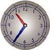 12 Hour Clock Single