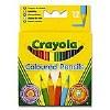 Colour Pencils Half Length 12