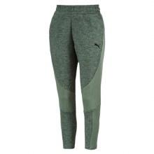 Ladies Evo Stripe Tapered Pants Green
