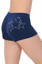Galaxy Velour Gymnastics Shorts