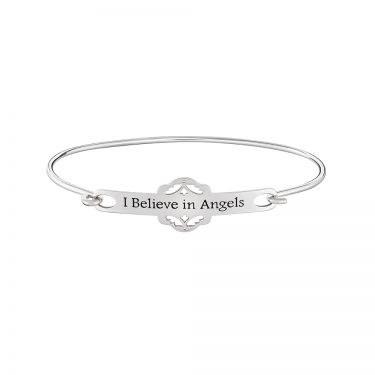 I Believe in Angels ID Bracelet