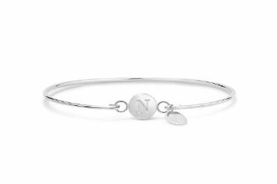 Love Letter Initial Bracelet N