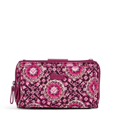 Iconic Deluxe All Together Crossbody Raspberry Medallion