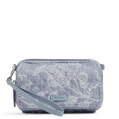 Iconic RFID All in One Crossbody Park Lace