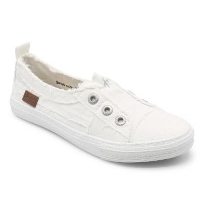Aussie White Canvas Sneakers 6