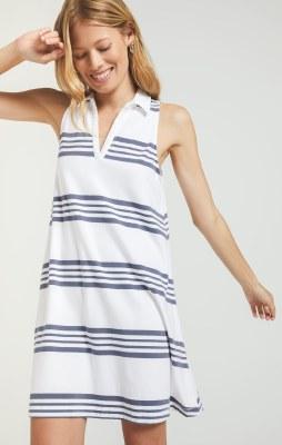 Bahari Stripe Dress Medium