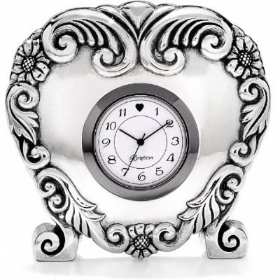 Scroll Heart Clock