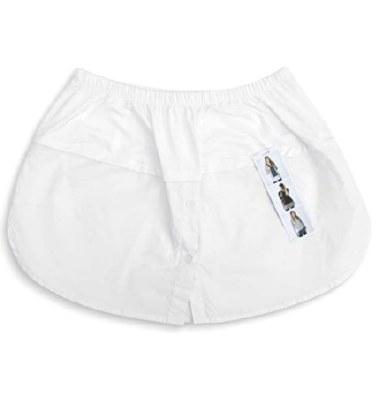 White Shirt Extender W/ Button