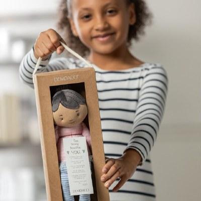 Strong Girls Doll: Black Hair