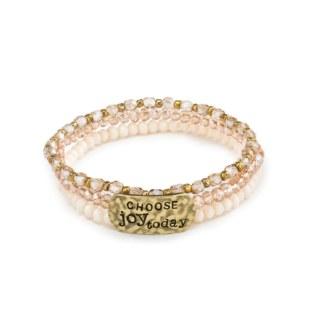 "She Inspires Bracelet: ""Choose Joy Today"""