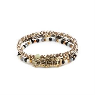 """She Inspires Bracelet: """"Be Fearless"""""""