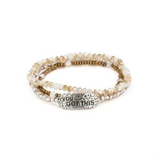 "She Inspires Bracelet: ""You Got This"""