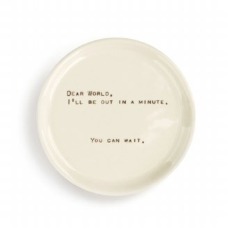 Dear You Trinket Dish - Wait