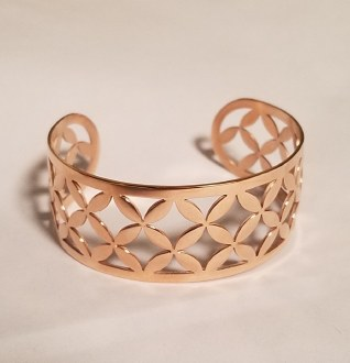 Scafati Bangle Rose Gold