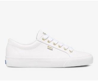 Jump Kick White Leather 6