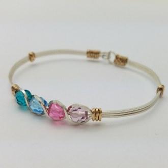 Birthstone Bracelet 4 Stones