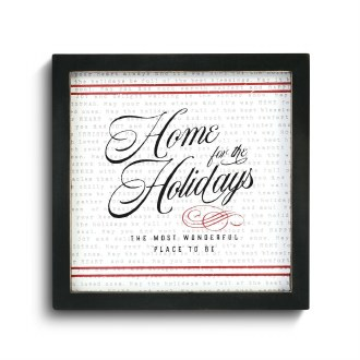 Home For the Holidays Wall Art