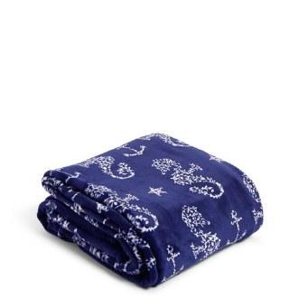 Plush Throw Blanket Seahorse of Course