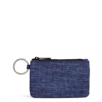 ReActive Zip ID Case Dark Blue Heather