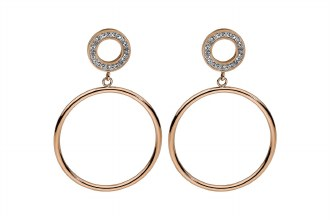 Bitonto Earrings Rose Gold