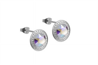 Tondo Deluxe Studs S Crystal A
