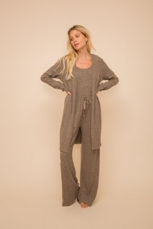 Brushed Open Cardigan Small Mo