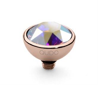 Bottone 10 RG Crystal Aurora B