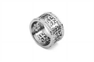 Silver Avellina Ring 7.5