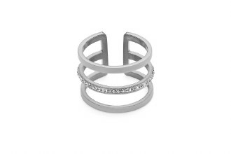 Cesena Deluxe Ring Silver