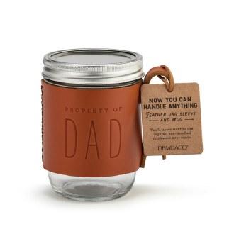 Dad Leather Sleeve Mug