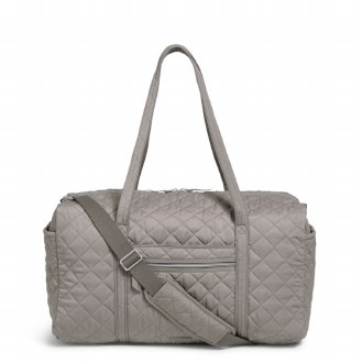Large Travel Duffel Tranquil Gray