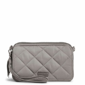 RFID All in One Crossbody: Tranquil Gray