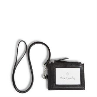 Carryall RFID Lanyard Card Case: Black