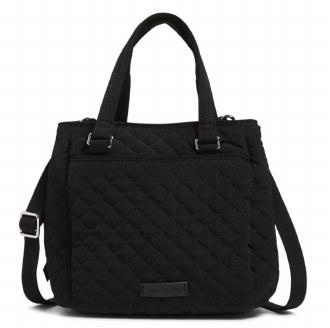 Mini Multi-Compartment Crossbody Bag Classic Black
