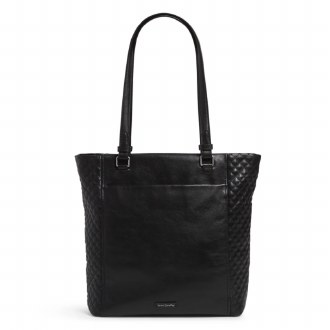 Carryall Small North South Tote Black