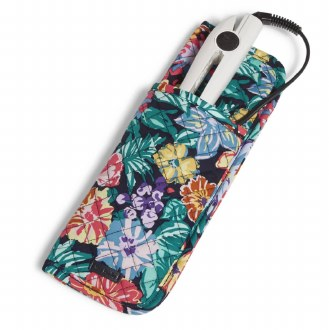 Curling & Flat Iron Cover : Happy Blooms