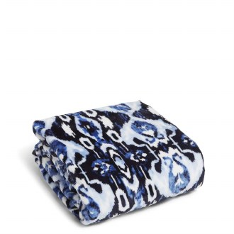 Plush Throw Blanket Ikat Island
