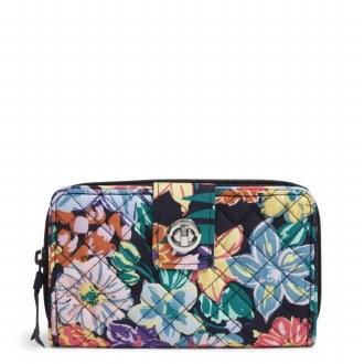 RFID Turnlock Wallet: Happy Blooms