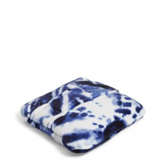 Plush Fleece Travel Blanket Ikat Island