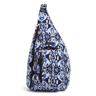 Sling Backpack: Ikat Island