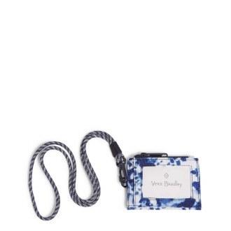 ReActive RFID Lanyard Card Case: Island Tie-Dye
