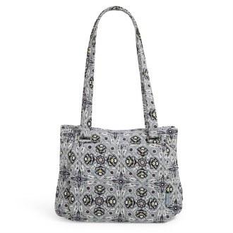 Multi-Compartment Shoulder Bag: Plaza Tile