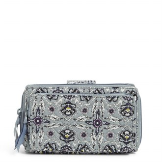 RFID Deluxe All Together Crossbody: Plaza Tile