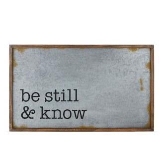 Be Still Wall Art