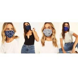 Blue Batik Mask Pack