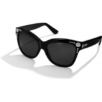 Black Ferrara Stud Sunglasses
