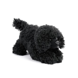Black Poodle Beanbag