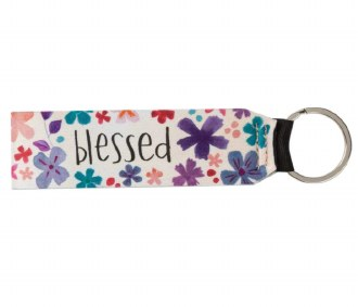 Blessed Wristlet Keychain